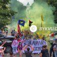 В Україні пройшли пікети проти призначення Шкарлета в. о. міністра освіти
